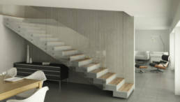 Bertol metal- stairs -fitting